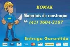KOMAK MATERIAIS DE CONSTRUÇÃO EM FAZENDA RIO GRANDE - Foto 20