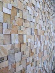 Restimento em pedras pastilhas - novos produtos pré assentados - placas 30x30 - fácil aplicaÇÃo - consome pouca massa - perda de de até 5% - ótimo custo benefício