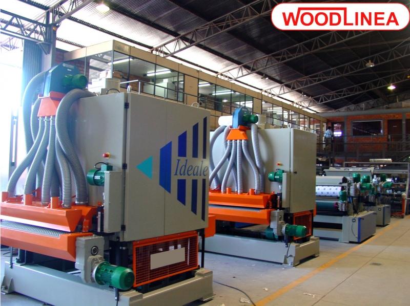 Linha producao Woodlinea