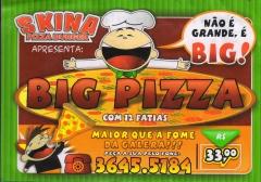 Skina pizza burger restaurante pizzaria lanches pizzas calzones e refeiÇÕes em rio negro - foto 13
