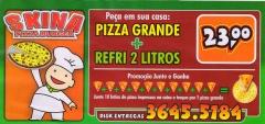 Skina pizza burger restaurante pizzaria lanches pizzas calzones e refeiÇÕes em rio negro - foto 7