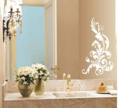 Adesivo espelho arabesco
