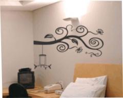 Adesivo de parede arabesco glaucia