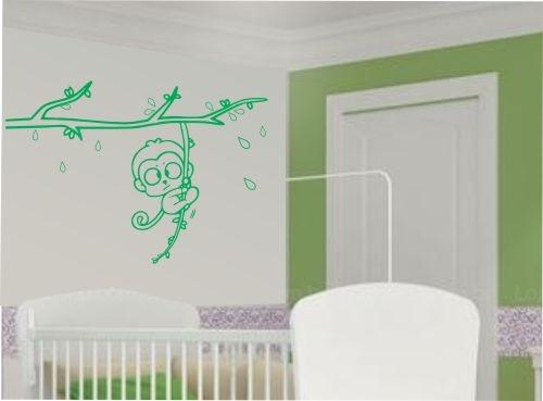 Adesivo de parede macaco