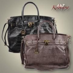 Maxi-bolsas de couro - kabupy
