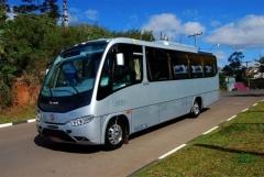 Micro ônibus de ultima geração.