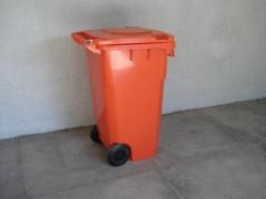 Lixeira plastica ( contentor) 240 l e 120 l