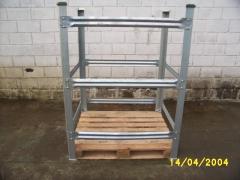Rack metalico desmontavel ( gaiola)