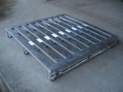 Palete metalico ( aço ) 100 x 120 x 14,5 cm ou conforme medida cliente