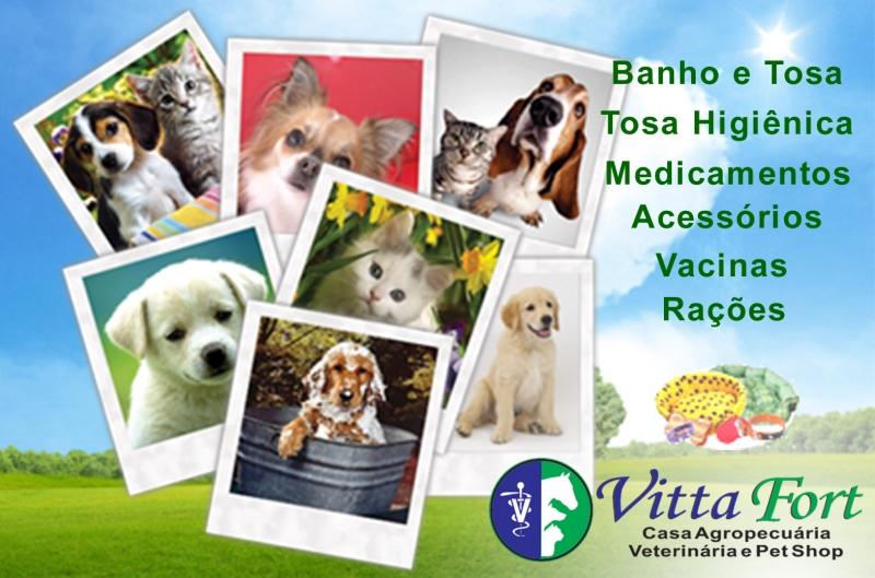 VittaFort - Agropecuária, Consultório Veterinário e Pet Shop