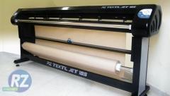 Plotter para confecção rz têxtil jet