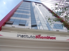 Fachada da sede em sp do instituto monitor