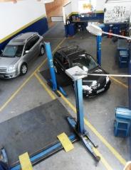 área serviço mecânico