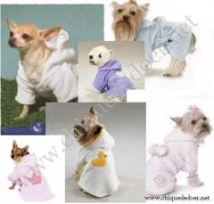 Moldes de roupas para c�es - roup�o de banho,camiseta,bon�,su�ter,calcinha higi�nica...