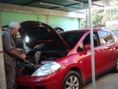 Serviço de carga de gás