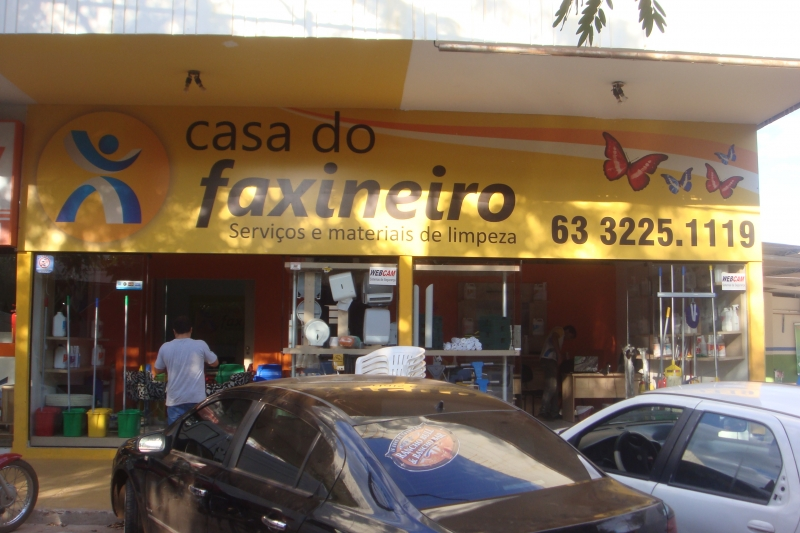 Casa do Faxineiro - Loja Palmas