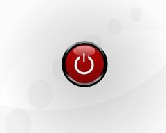 Botão do power que representa toda historia da informática e da viciosoft
