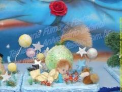 O pequeno principe - decoração aniversário infantil com a criatividade da maria fumaça festas. saiba mais acessando www.mariafumacafestas.com.br