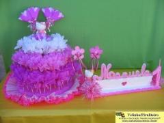 Piruliteiro temático e velinha personalizada para decoraçao de festa de aniversário infantil. uma exclusividade da maria fumaça festas