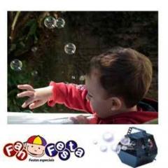 Maquina de bolhas de sabão. companha 2 litros de fluido