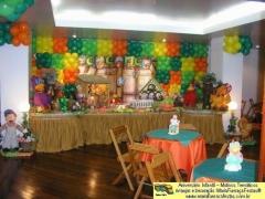 Turma do cocoricó - decorando sua festa de aniversário infantil com temas desenvolvidos pela maria fumaça festas --> www.mariafumacafestas.com.br