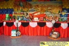 Carros - decorando sua festa de aniversário infantil com temas desenvolvidos pela maria fumaça festas --> www.mariafumacafestas.com.br