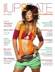 Editorial - capa e revista para segmento de cosmética