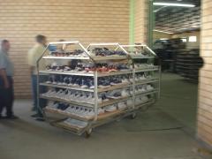 Autoclaves para fabricação de tênis
