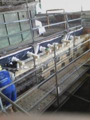 Borda lateral forno poço