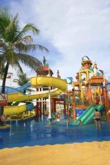 Vistas parque aquático