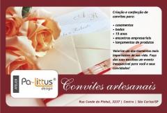 Convites artesanais