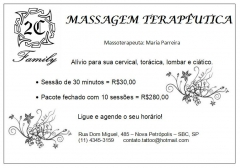 Massagem terap�utica