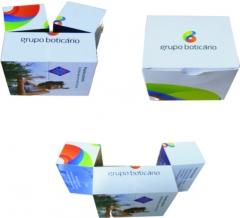 Cubo Mídia e Caixa Personalizada - Boticário