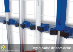 Organize-se, esse organizador de acessórios é prático e barato, veja como adquiri-lo no nosso site www.casadofaxineiro.com.br
