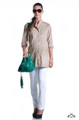 Batas e camis�es duevita que tamb�m servem para amamentar