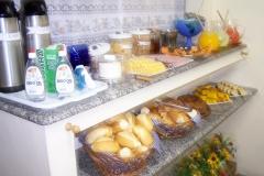 Bufê do café da manhã