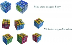 Mini cubo mágico sony xperia e tim