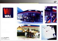 Identidade visual para wal petróleo