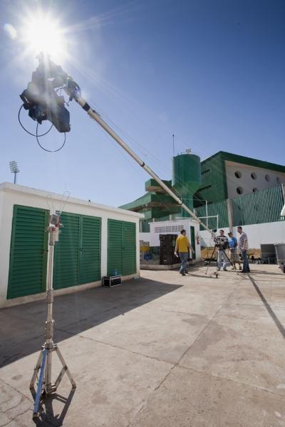Externa - Vídeo institucional em Brasília - Grua 9 metros