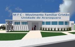 Centro de orientação familiar salão sede para o mfc de araraquara metragem: 550,00m²