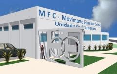 Centro de orienta��o familiar sal�o sede para o mfc de araraquara metragem: 550,00m�