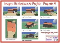 Desenvolvimento do projeto para a construtora construmeta. (opções de cobertura, fachada e maquete eletrônica). metragem: 65,77 m². local: limeira