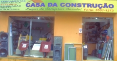 Casa da Construção, lugar de comprar barato!