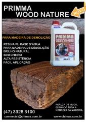 Para madeira de demoli��o primma wood nature