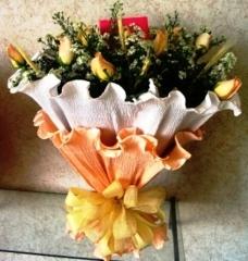 Bouquet crepon