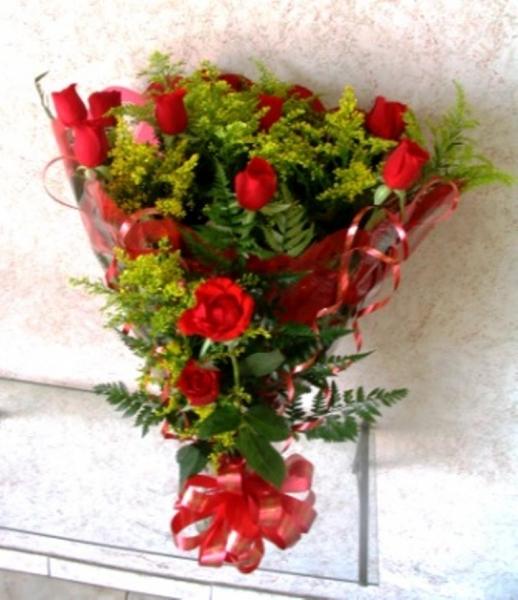 Bouquet rosas tradicional