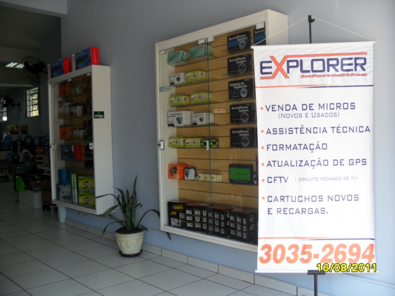 EXPLORER INFORMÁTICA CONSERTO DE COMPUTADOR NOTEBOOK LAN HOUSE LOJA DE INFORMÁTICA E CARTUCHOS EM SÃO JOSE DOS PINHAIS