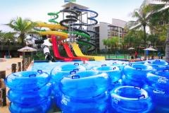 Parque aquático, toboagua