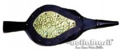 Fole soprador para lareira lat�o dourado -www.bellabrasil.com.br