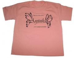 Camiseta estampa anjinha